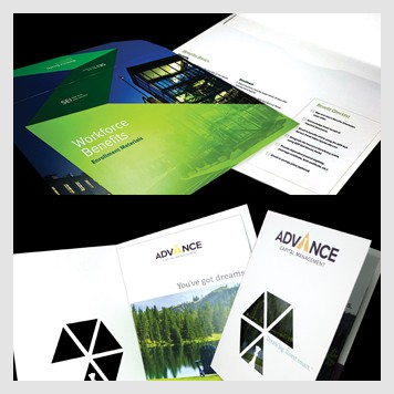 Presentation Folders & Packaging